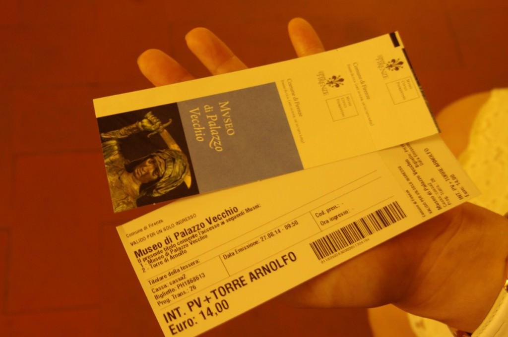 ヴェッキオ宮殿 チケット