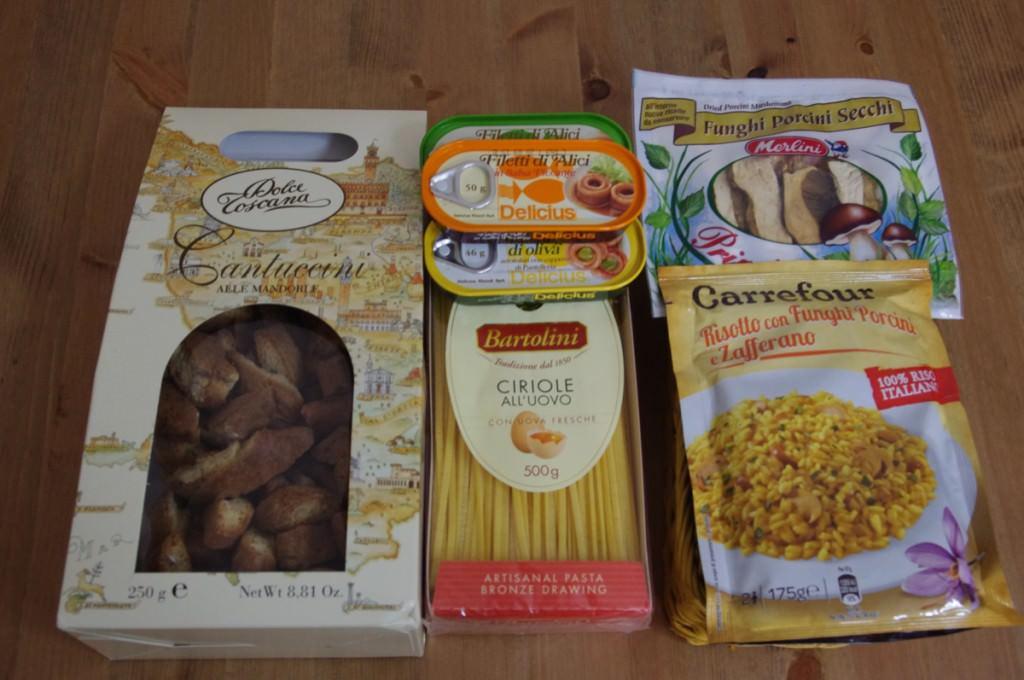 イタリアのスーパー お土産