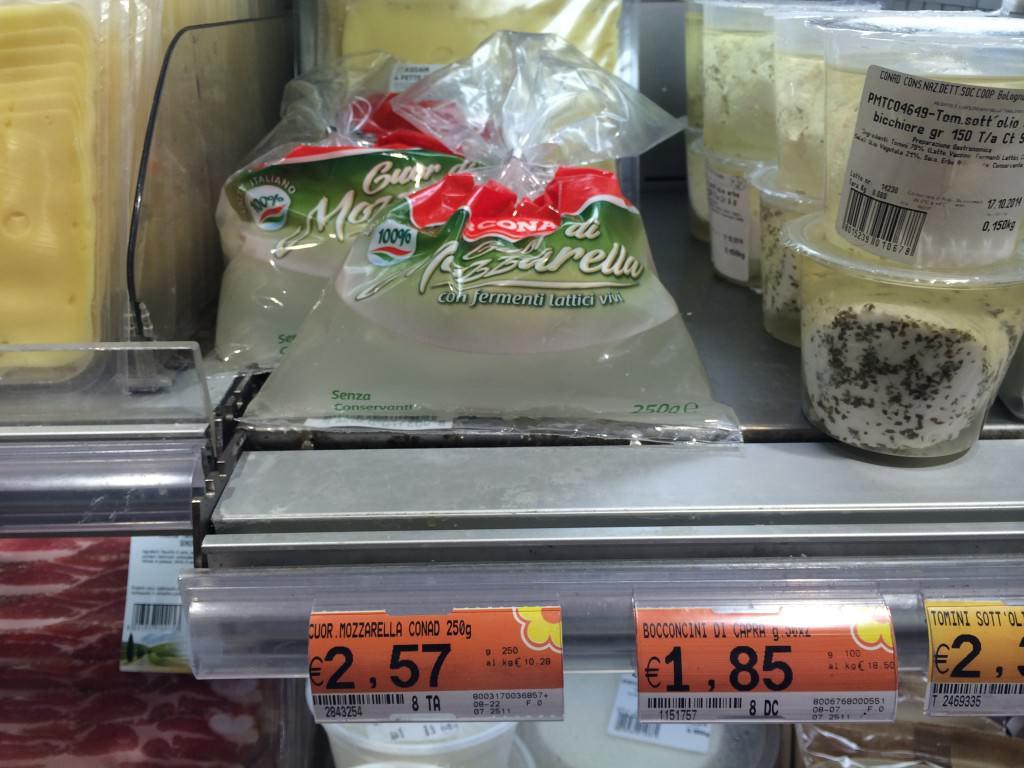 イタリア モッツアレラチーズ
